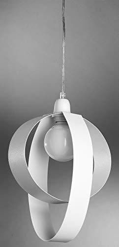 Dafnedesign.com - lampadario da cucina - colore bianco - cm. 30 x 20 ...