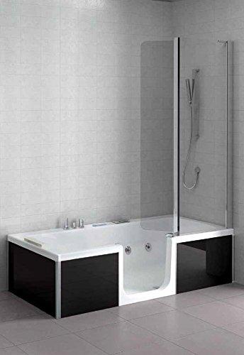 Grandform vasca con sportello combinata double con - Combinato vasca doccia ...
