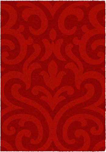 arabesque rug Lumiere Red 120x170 cm